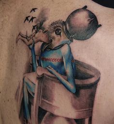 Bosch's The Garden of Earthly Delights tattoo