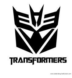 free stencils   ... Transformers Stencil – Free Pumpkin Carving Stencil/Pattern