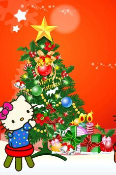 1000 images about hello kitty christmas on pinterest. Black Bedroom Furniture Sets. Home Design Ideas