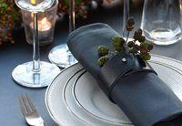 Lisbett Wedendahl - grå & sort & orange
