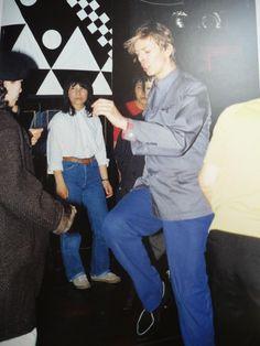 David Bowie having fun in Japan.