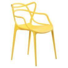 Стул Viti Пластик жёлтый офисная мебель офисная стул кресло офисное офисный для…