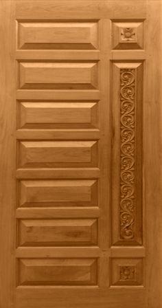 Teak Wood Carving Design Door online India from Indian vendors at RollingLogs. Teak Wood Carving Design Door online India from Indian vendors at RollingLogs. Wooden Front Door Design, Door Gate Design, Room Door Design, Door Design Interior, Wooden Front Doors, Wood Doors, House Main Door Design, Porte Design, Modern Wooden Doors