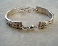 Spoon Bracelet Recycled Silverware Jewelry
