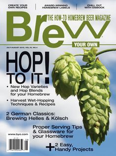 Article on Growing Your Own Hops
