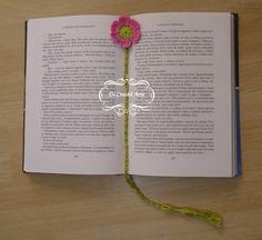 Marcador de Página Flor