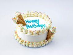 Amazing Picture of Birthday Cake Ice Cream Birthday Cake Ice Cream Ice Cream Cakes Ben Jerrys Ice Cream Birthday Cake, Frozen Birthday Cake, 3rd Birthday Cakes, Homemade Birthday Cakes, Birthday Cake With Candles, Birthday Desserts, Ice Cream Party, Happy Birthday, Cake Batter Ice Cream