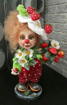 Polymer Clay Sculptures, Sculpture Clay, Cute Cat Wallpaper, Felted Wool Crafts, Reborn Baby Dolls, Doll Head, Ooak Dolls, Cute Dolls, Fabric Dolls