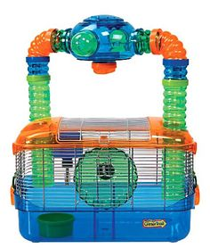 Super Pet Critter Trail Triple Play 3 in One Habitat for Hamsters - love this idea