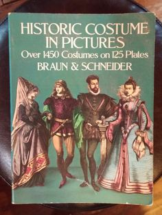 Historic Costume in Pictures Fashion History by RospersEmporium