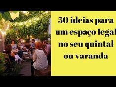 37 Cantinhos charmosos para seu quintal - Blog da Mari Calegari Patio, Backyard, Moroccan Garden, Gazebo, Deck, Blog, Side Yards, Rooftops, Small Backyard Gardens
