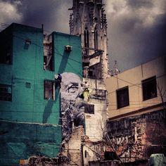 """Wrinkles of the City"" JR x Jose Parla"