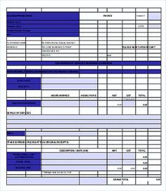 Free Printable Catering Invoice Templates  Free Printable Invoice