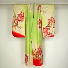 Furisode and juban set for child (7yrs old) / 七歳用の振袖と襦袢の七五三セット   #Kimono #Japan http://global.rakuten.com/en/store/aiyama/