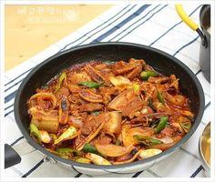 캠핑가서도 간편하게 해먹어요...오삼불고기와 콩나물국 – 레시피 | Daum 요리