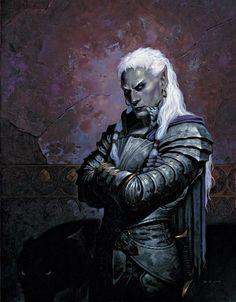 'Dark Elf' by Gerald Brom