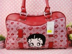 All of our items are Brand New. Dimension: Length x Width x Height: x 9 x Color-Red Betty patterns embroidered on front Made of durabel fabric Repeated Betty patterns and lo. Betty Boop Cartoon, Deep Burgundy, Canvas Shoulder Bag, Purse Wallet, Pjs, Tote Handbags, Totes, Wallets, Purses