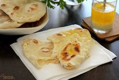 Sünis kanál: Naan - indiai lepénykenyér Naan, Pizza, Pudding, Cheese, Breakfast, Food, Cooking Recipes, Morning Coffee, Custard Pudding