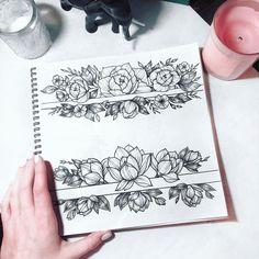 """682 Likes, 5 Comments - Tattoo Studio (@pakhanoff.tattooart) on Instagram: """"Свободная флористика от Карины @karina_scawoottt запись 6-28 августа Запись через и…"""""""