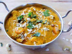 "Indian Vegetarian Korma Curry (vegan if desired) ""like in the restaurants"""