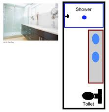 long thin bathrooms - Google Search