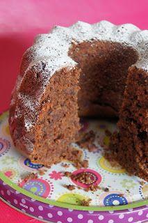 Veganpassion: Rotweinkuchen mit Schokolade, Kirsche und Nüssen