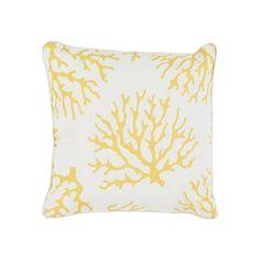 Decor 140 Brilva Indoor / Outdoor Throw Pillow, Brt Yellow