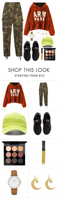 """Vernon X Pretty U MV"" by jleeoutfitters ❤ liked on Polyvore featuring Proenza Schouler, Forever 21, Y-3, MAC Cosmetics, NARS Cosmetics and CLUSE"