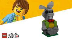 DIY Lego Rabbit #DIY #Kids #Legos #Rabbits #Bunny #Bunnies