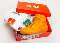 Air Jordan 1 Gatorade Orange Peel Arriving In A Few Days #NiceShoes
