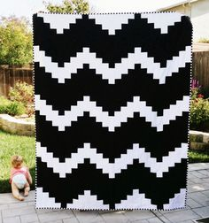 Best of Etsy: Modern Quilts for Fellow Pattern Lovers via Brit + Co.