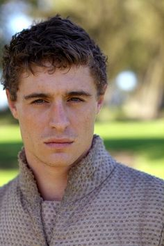 Max Irons stops a ro