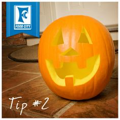 POWER SHOPPER TIP #2: Insert a silica gel packet inside your pumpkin after carving to make your jack-o-lantern last longer and give it some added life this Halloween!