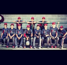 AAA Baseball team picture. (Forgot to edit out junk in background. Definitely do it before I print it!)