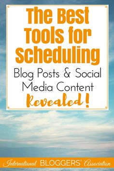 Here is eight tools for scheduling blog posts and social media content that will make your life easier and help you grow your audience!