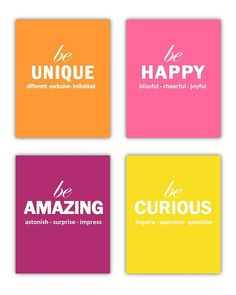 Art for Teens Playroom wall Art Our Just Be by LittlePergola, $55.00