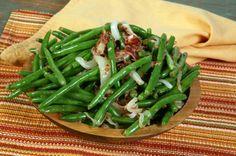 Grüne Bohnen mit Speck /   Green Beans with Bacon