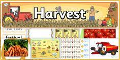 Harvest Festival Resource Pack - harvest festival, harvest, festival, resource…