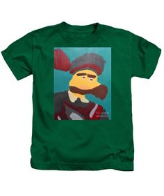 Purchase a Patrick Francis Designer juvenile Kelly Green t-shirt featuring the image of The Emperor Charles V - After Peter Paul Rubens by Patrick Francis.  Available in sizes 2T - 4T.  Each juvenile t-shirt is printed on-demand, ships within 1 - 2 business days, and comes with a 30-day money-back guarantee.
