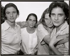 Nicholas Nixon (American, born in 1947). 'The Brown Sisters' 1980