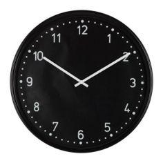 Bondis Wall Clock Need Bold Black White For Bathroom