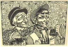 Harry Kernoff is one of Ireland's most distinguished artists. Initially, A COLLECTION OF Woodcuts by Harry Kernoff