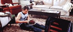 Two-Bit Matthews and his chocolate cake <3 The Outsiders.