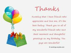 Thank you messages for birthday wishes birthday pinterest share this on whatsappwant to send birthday thank you wishes to your friends and dears who wished you on your birthday or looking for birthday thank you m4hsunfo
