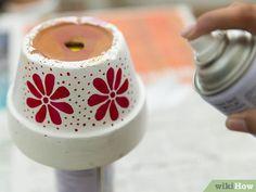 Comment peindre des pots en terre cuite: 31 étapes