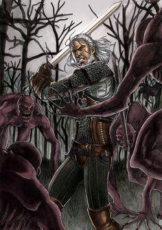 The Witcher by Celtilia on DeviantArt