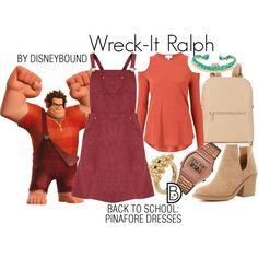 Disney Bound - Wreck-It-Ralph Disney Bound Outfits Casual, Cute Disney Outfits, Disney Themed Outfits, Disneyland Outfits, Disney Dresses, Teen Fashion Outfits, Disney Clothes, Princess Inspired Outfits, Disney Inspired Fashion