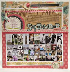 Great page from Nichol, using TT Studio AE May stamp set.
