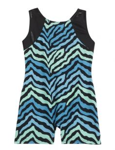 Animal Print Gymnastics Biketard