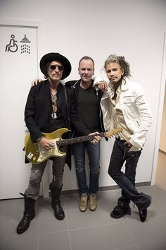 Steven, Joe and Kiefer Sutherland last night in Denmark 2017
